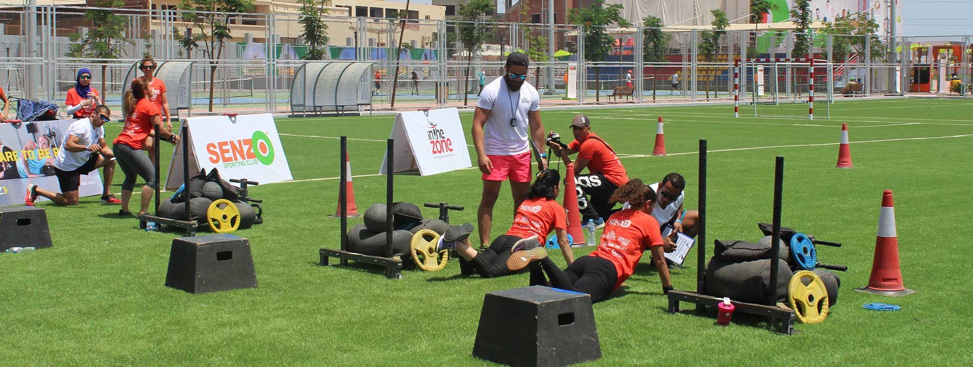 senzo club CAMPS & ATHLETES